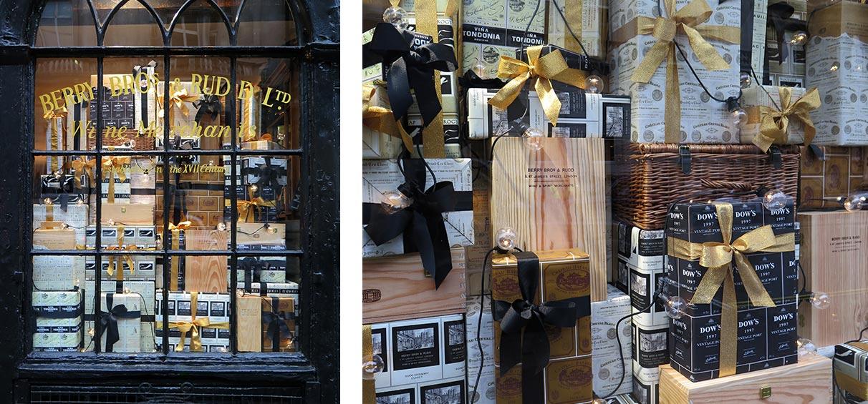 BB&R-Christmas-window-display-wine-retail-London