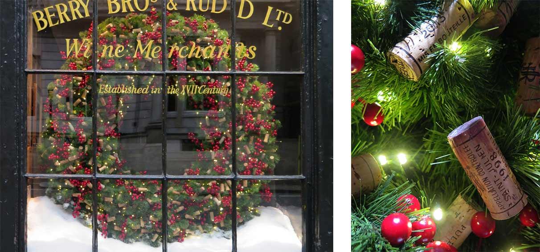BB&R-Christmas-window-display_London giant wreath