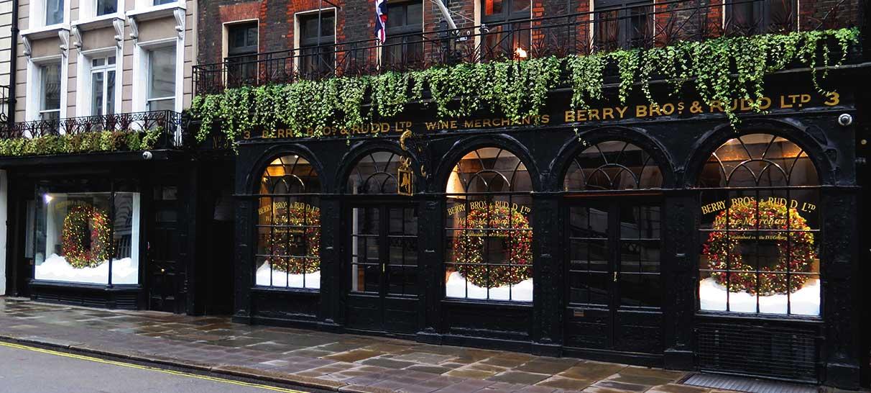 Christmas window display company London
