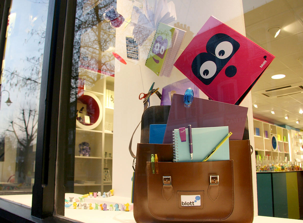 BLOTT_stationary-window-display-agency