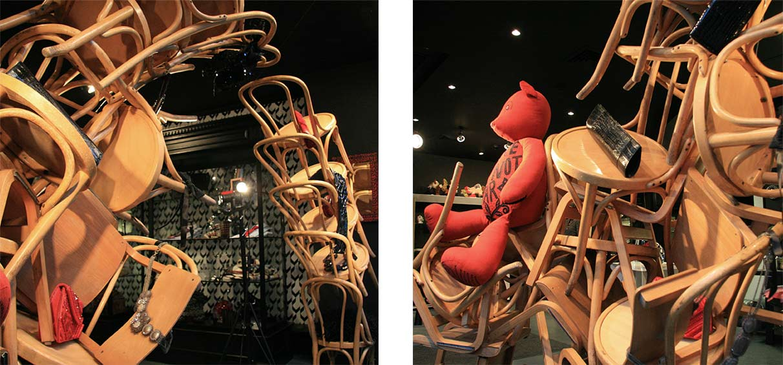 installation art window display design London