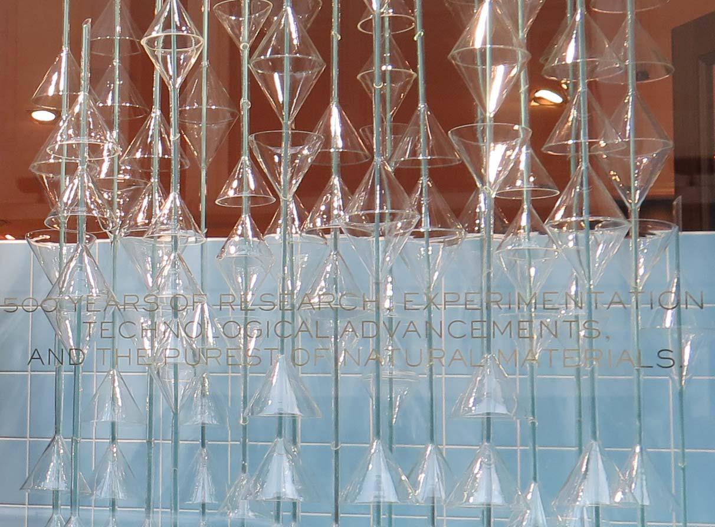 Scabal window display art installation