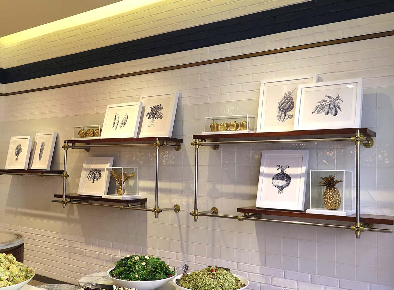 Restaurant Interior Displays Company London