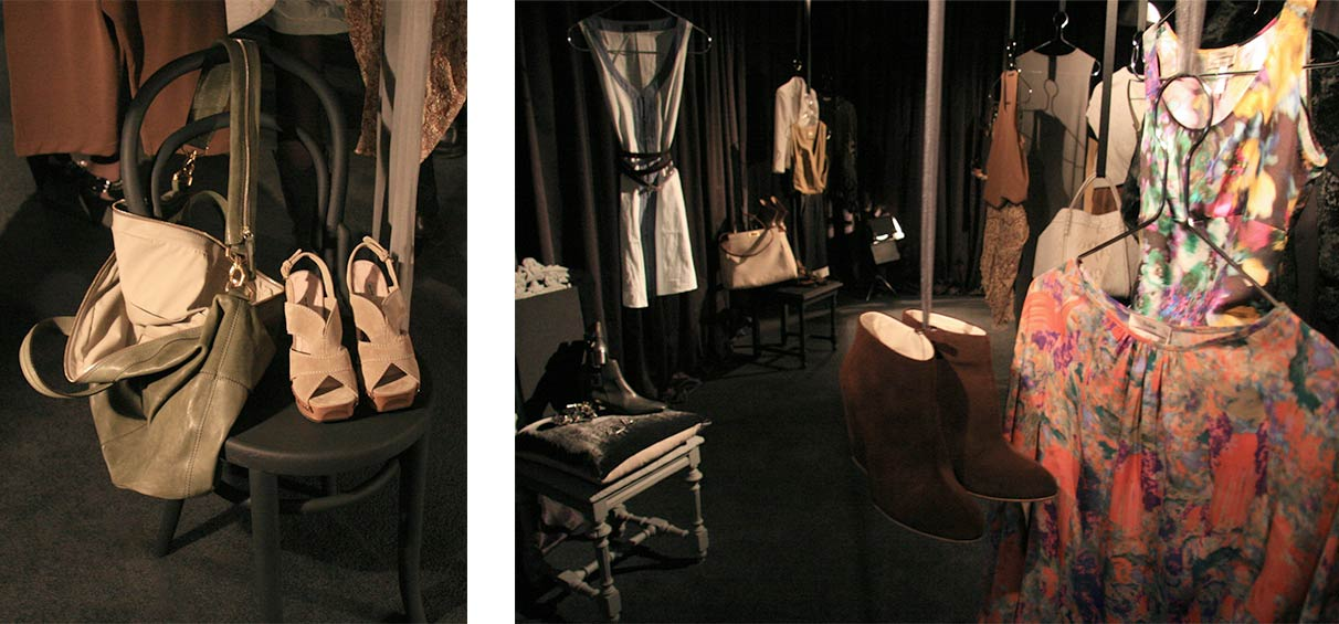Press event visual merchandising London