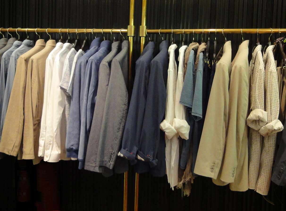 menswear visual merchandising Shanghai Tang London