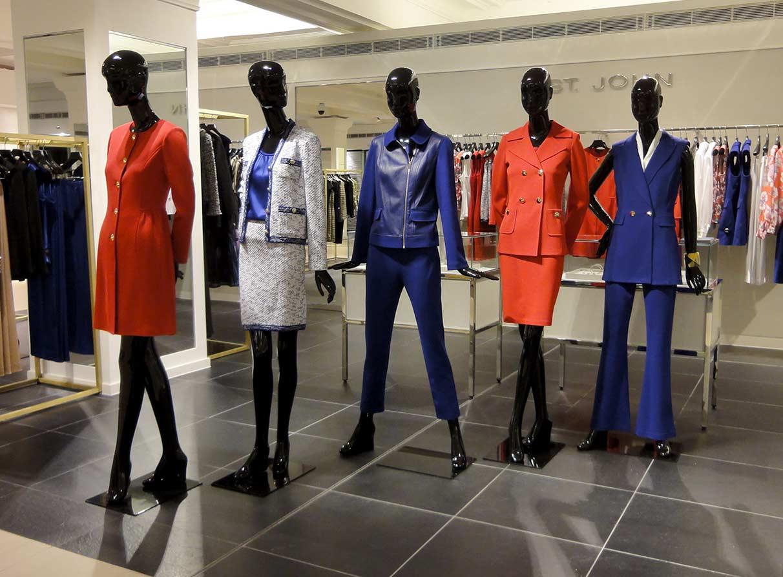 Womenswear visual merchandising Harrods