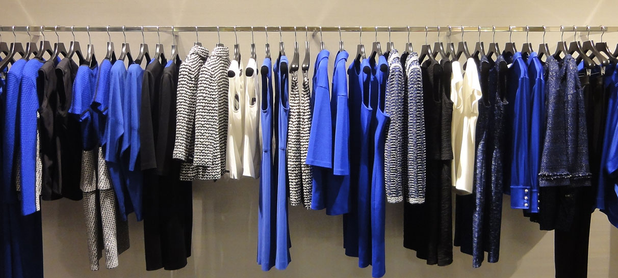 Womenswear freelance visual merchandiser London