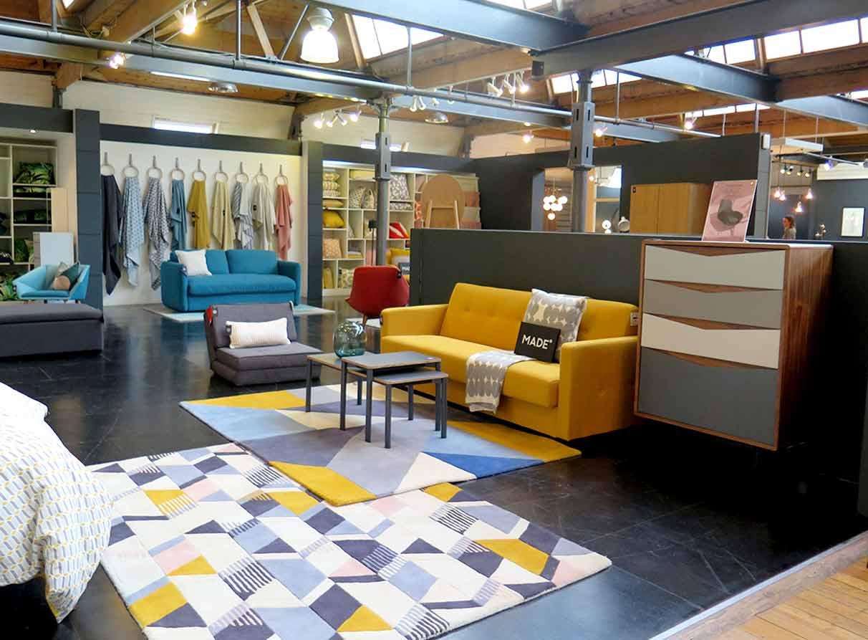 furniture-showroom-visual-merchandising-company London