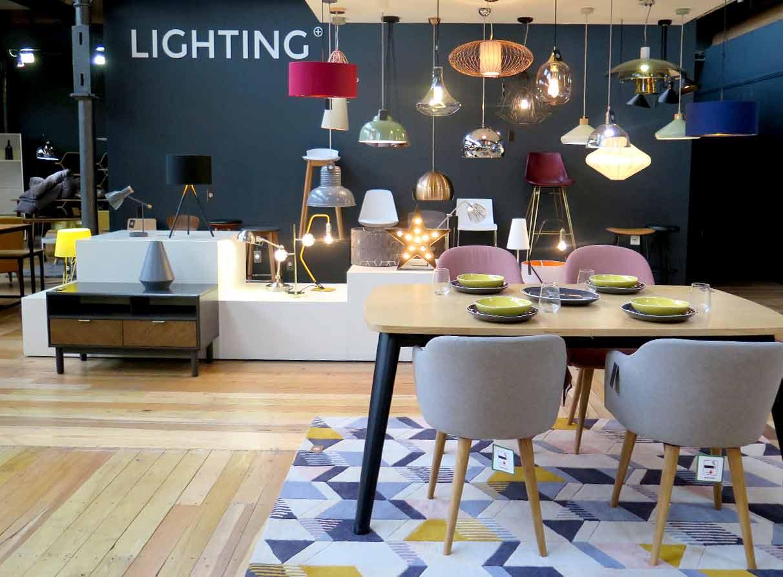 lighting-showroom-visual-merchandising-company London