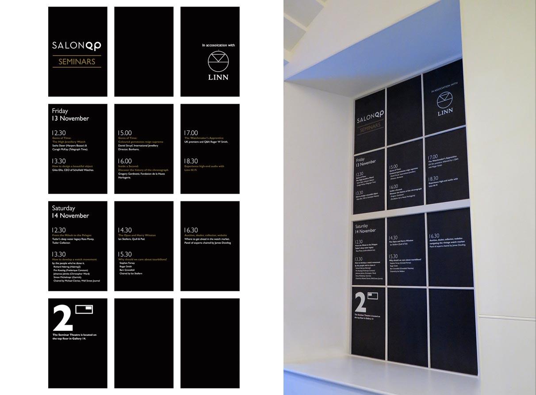 event graphic design company salon qp