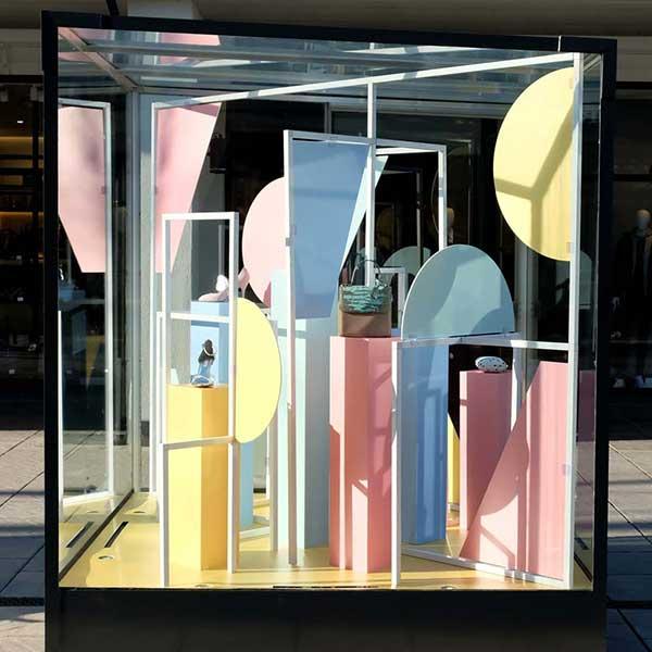 Window display design agency London