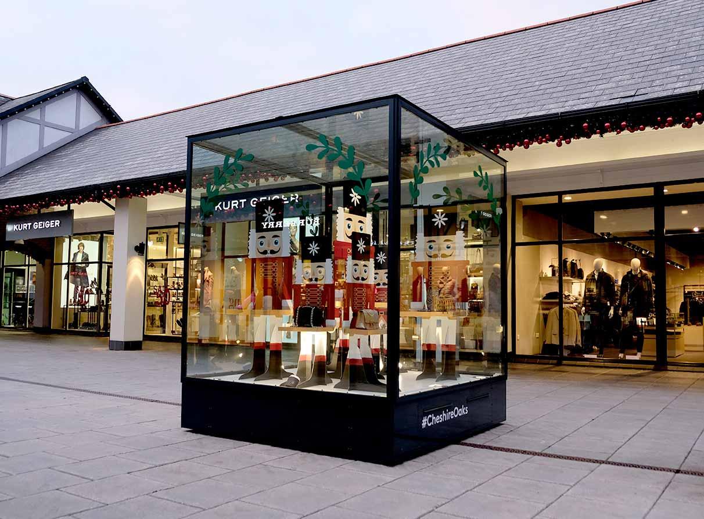 Christmas nutcrackers retail display company London
