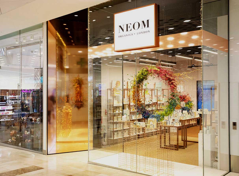 Christmas window display company London - Neom