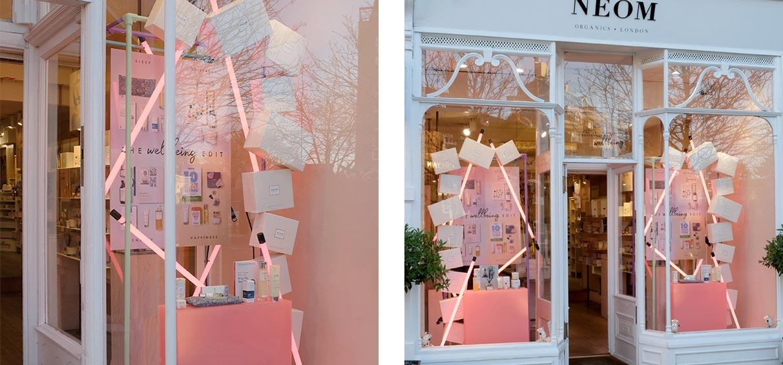 neom-organics-window-display-Wimbledon